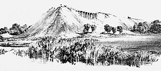 London and Birmingham Railway - Making the embankment - Wolverton Valley, 28 June 1837.