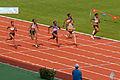 Women 100 m French Athletics Championships 2013 t162355.jpg
