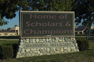 Woodbridge High School (Irvine, California) - Image: Woodbridge High School