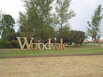 Woodvale, Western Australia - Woodvale estate sign
