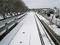 Work goes on even if it has snowed. - geograph.org.uk - 754187.jpg