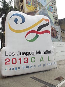 World Games 2013 in the Avenida Colombia Kolombio-Avenuo 1.JPG