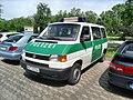 Worms- BIZ-Schüler-Parkplatz- Streifenwagen der Polizei Rheinland-Pfalz (VW MZ 32556) 20.5.2009.JPG