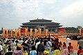 Worship at the Great Temple of Shennong-Yandi in Suizhou, Hubei.jpg