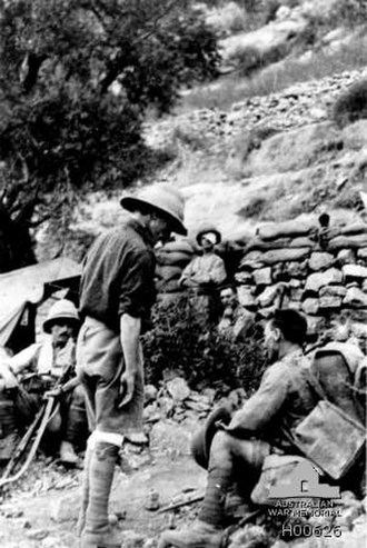 Battle of Nebi Samwil - Wounded from the 4th Battalion, Wiltshire Regiment, 75th Division