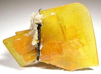 Kofa Mountains - Wulfenite specimen from the old King of Arizona mine