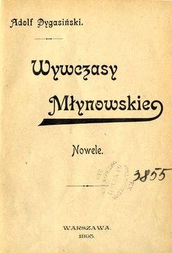 Wywczasy Młynowskiecałość Wikiźródła Wolna Biblioteka