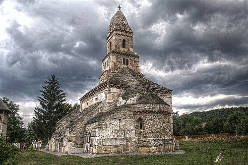 XIII century church from Densuş