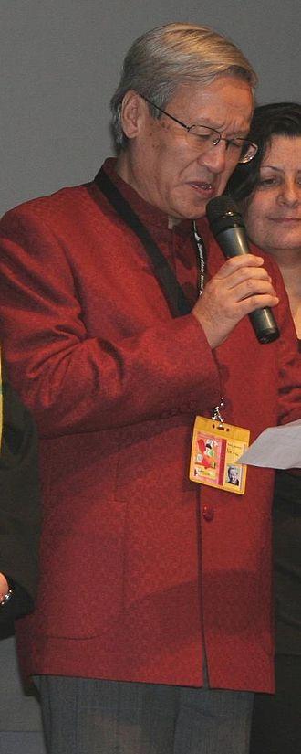 43rd Berlin International Film Festival - Xie Fei, co-winner of the Golden Bear at the festival