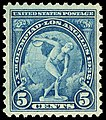 Xth Olympiad Los Angeles Discus Thrower 5c 1932 issue U.S. stamp.jpg