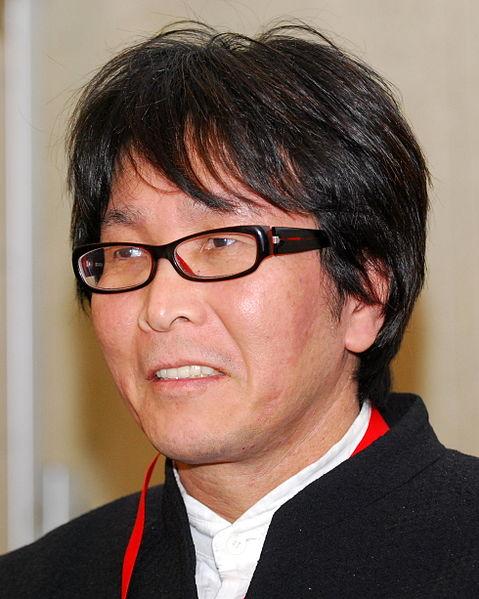 Yoichi Takahashi, creador de la serie y a quien ustedes besarán su trasero.