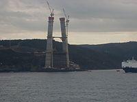 Yavuz Sultan Selim Bridge p8 Jan 2014.JPG