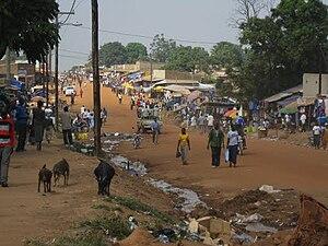 Yei, South Sudan - Yei landscape