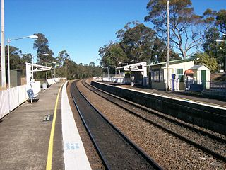 Yerrinbool railway station