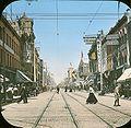 Yonge Street north of Queen Street Coloured Print.jpg