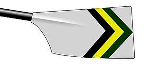 York St John University Rowing Club - Image: York St John Rowing Club blade
