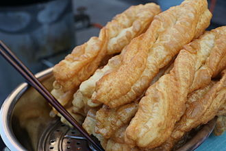 Youtiao - Pieces of youtiao