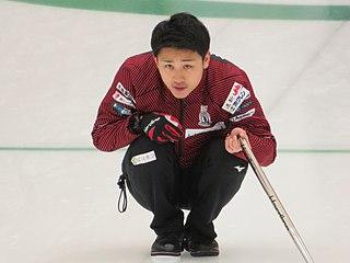 Yuta Matsumura Japanese curler