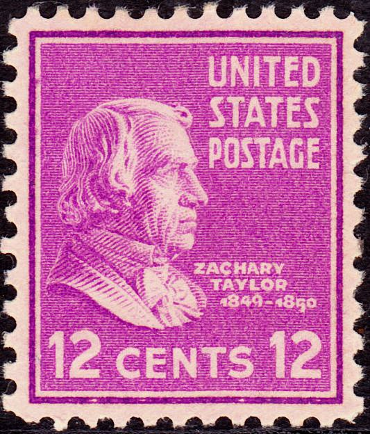 Zachary Taylor2 1938 Issue-12c