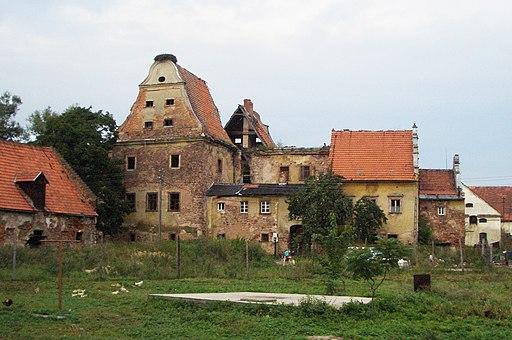 Zamek Kapitanowo w Scinawce Sredniej