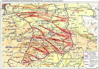 Western Carpathian offensive
