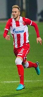 Uroš Račić Serbian footballer