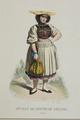 Zentralbibliothek Solothurn - SUISSE TYROL No 26 Jne Fille du Canton de Soleure Suisse - a0113.tif