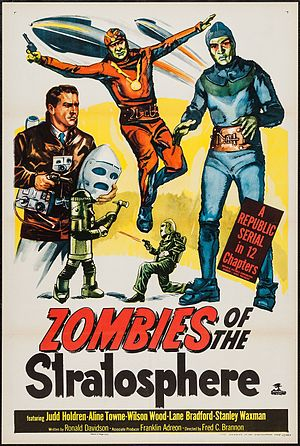 Zombies of the Stratosphere - Theatrical release poster