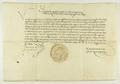 Zygmunt II August zawiadamia, iż zabronił wędrownym kupcom, głównie Szkotom, pobytu w miastach i wsiach, ze względu na konkurencję dla miejscowych kupców..png