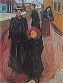 'Four Stages of Life' by Edvard Munch, 1902, Bergen Kunstmuseum.jpg