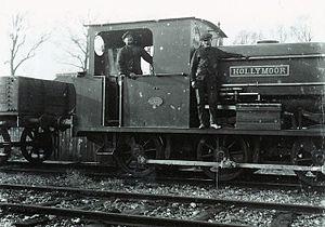 "Horton Light Railway - Peckett and Sons 0-6-0 saddle tank locomotive ""Hollymoor"""