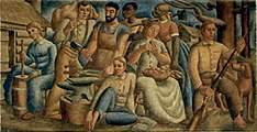 'People of the Soil' by Edwin Boyd Johnson, 1939.jpg
