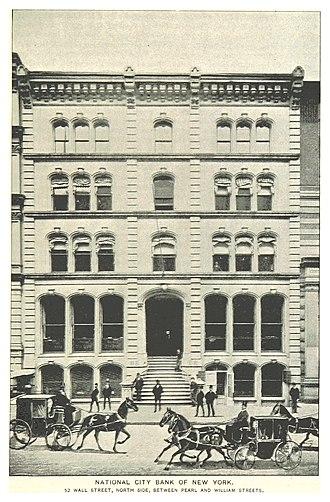 Citibank - 52 Wall Street, Ca 1890