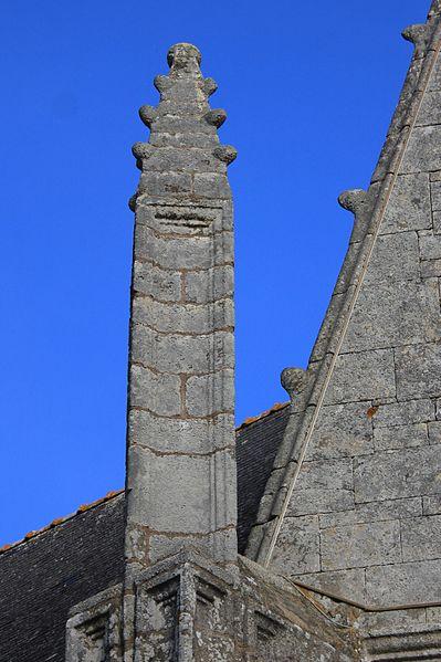 Église Notre-Dame-de-la-Fosse: pinacle