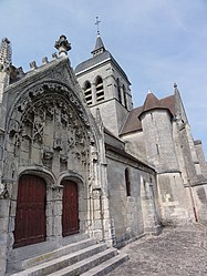The church of Missy-sur-Aisne