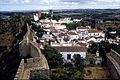 Óbidos-Vue des remparts-1967 08 01.jpg