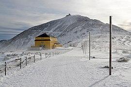 Śnieżka (Sněžka, Schneekoppe) in winter 2020, Karkonosze mountains 03.jpg
