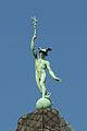 """Świdnica, dom mieszkalny """"Pod Merkurym"""", ul Grodzka 1 - postać Merkurego (Hermesa).jpg"""