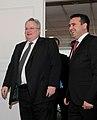 Επίσκεψη, Υπουργού Εξωτερικών, Ν. Κοτζιά στην πΓΔΜ – Συνάντηση ΥΠΕΞ, Ν. Κοτζιά, με Πρωθυπουργό της πΓΔΜ, Z. Zaev (23.03.2018) (27098677498).jpg