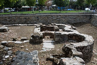 Larissa - Remains of the Basilica of St. Achillios, destroyed during the Ottoman times