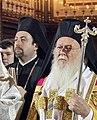 Архимандрит Вениамин (Димопулос) и Патриарх Варфоломей.jpg