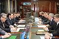 Аскар Мамин в Москве провел встречу с заместителем председателя правительства России Дмитрием Рогозиным.jpg