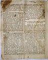 Второй отчет об археологических раскопках в Керчи в «Таврических губернских ведомостях». № 18-2 1846 г.jpg