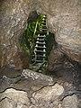 Входа на пещерата от вътре,the cave entrance from inside - panoramio.jpg