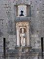 Дубровник. Ворота Пиле. Статуя Св. Влаха - покровителя города - panoramio.jpg