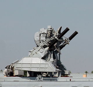 Close-in weapon system type of point-defense weapon system