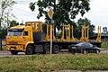 Лесовоз с желтыми проблесковыми маячками, Коряжма.JPG