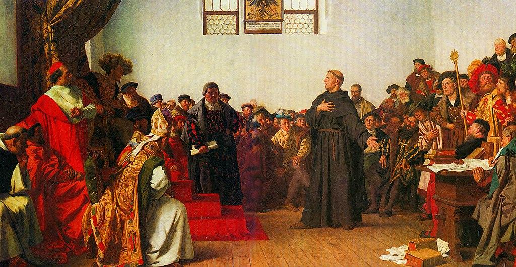 Лютер в Вормсе