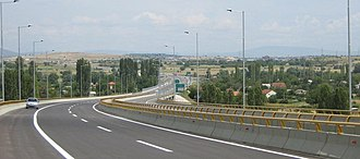 M-1 motorway (Republic of Macedonia) - Image: МК А1 Е75