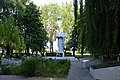 Писарівка, Пам'ятник 210 воїнам - односельчанам загиблим на фронтах ВВВ, при в'їзді в село.jpg